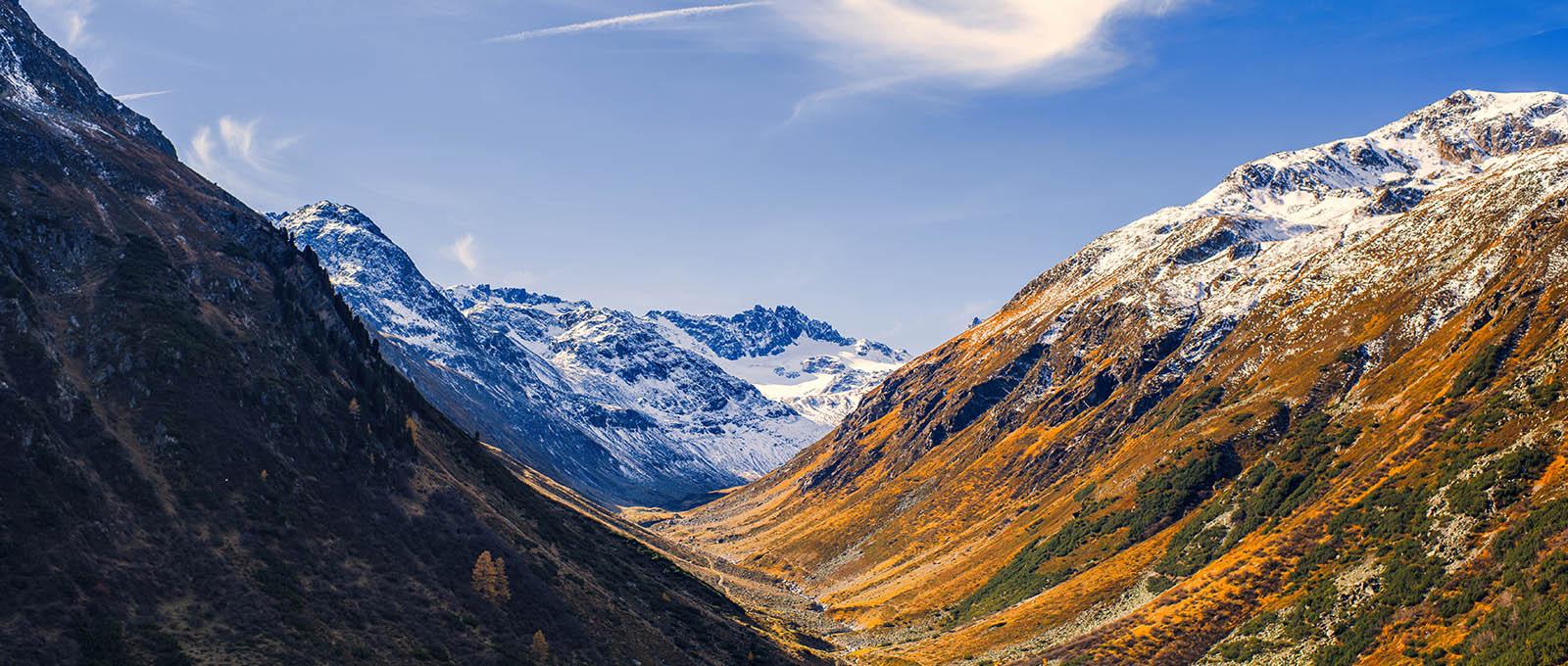 Vyrážíme vstříc šampaňskému klimatu švýcarského kantonu Graubünden