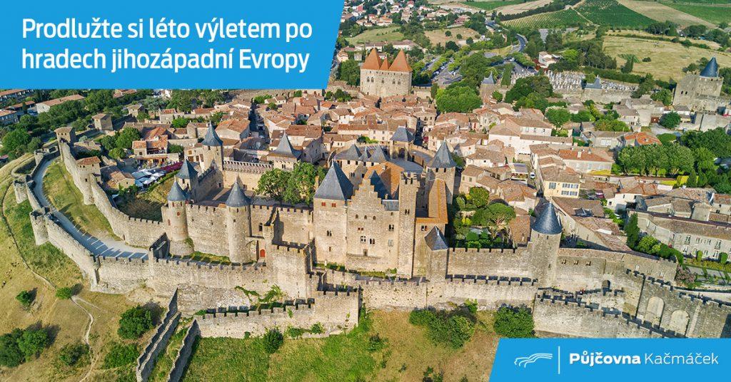 Portugalsko a Španělsko se svými hrady, které jsou zapsané v UNESCO